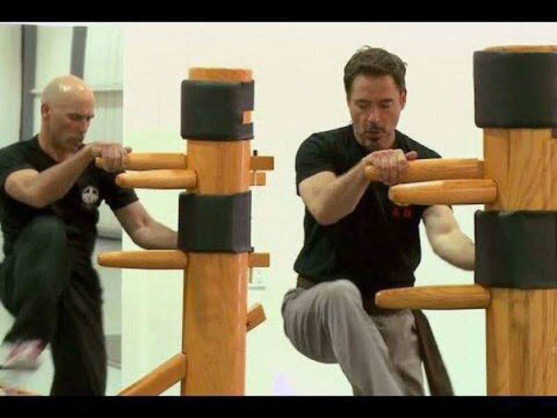 Wing Chun Robert Downey Junior