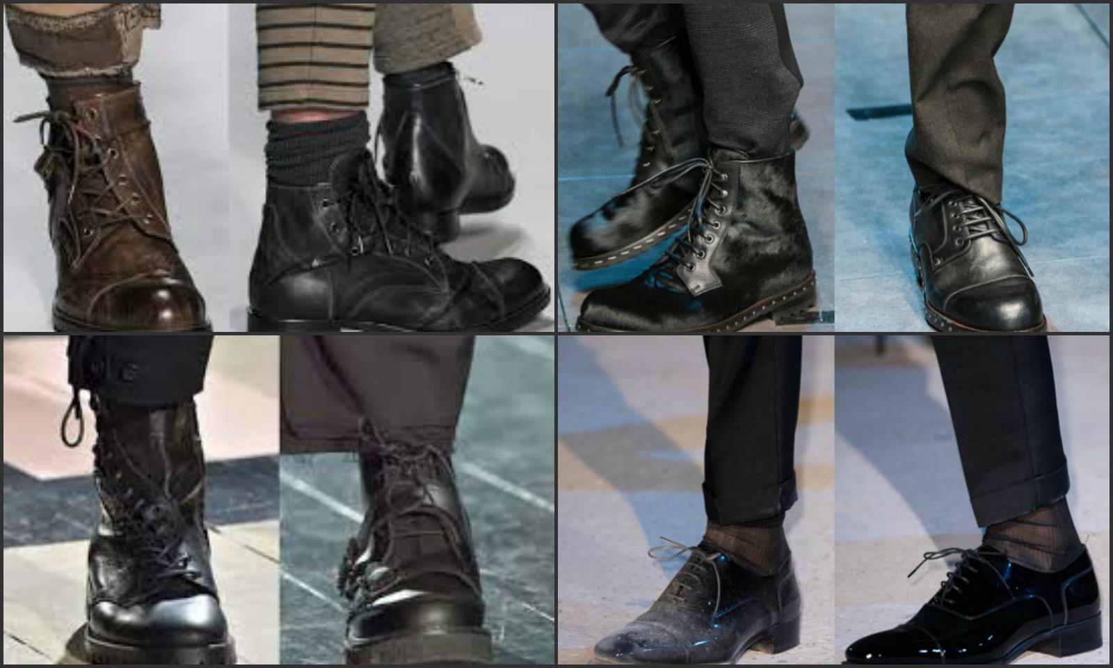 come si fanno le scarpe da uomo