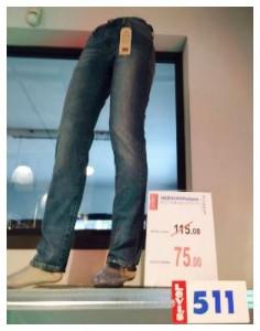 jeans levis 511 nerviano milano