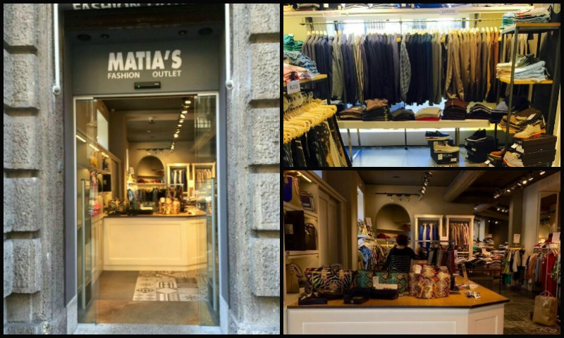 matia's fashion outlet milano