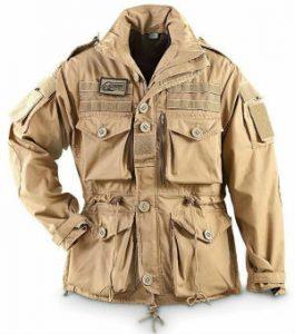field jacket beige