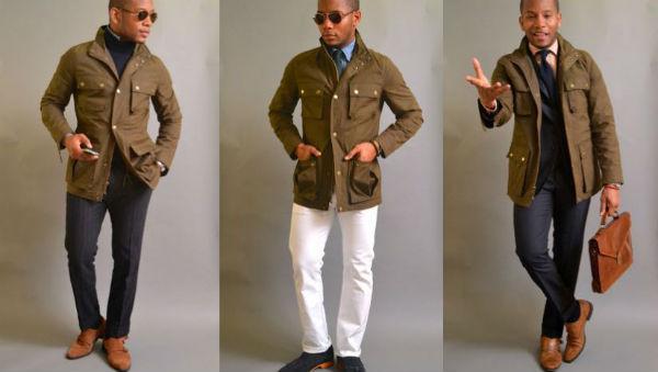 field jacket indossata