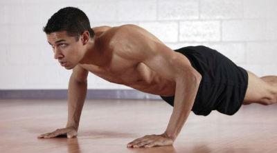 in forma con push-ups