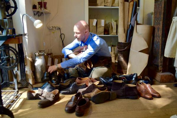 ricondizionamento scarpe lusso