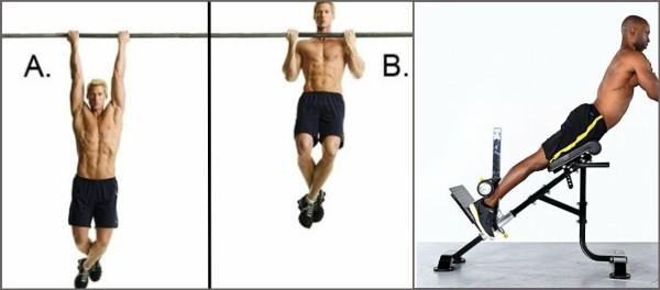 Split routine training