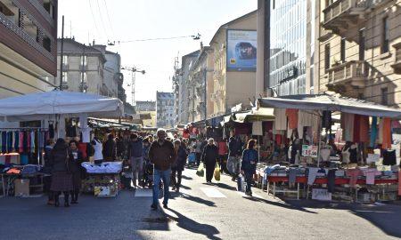 il mercato di via fauchè