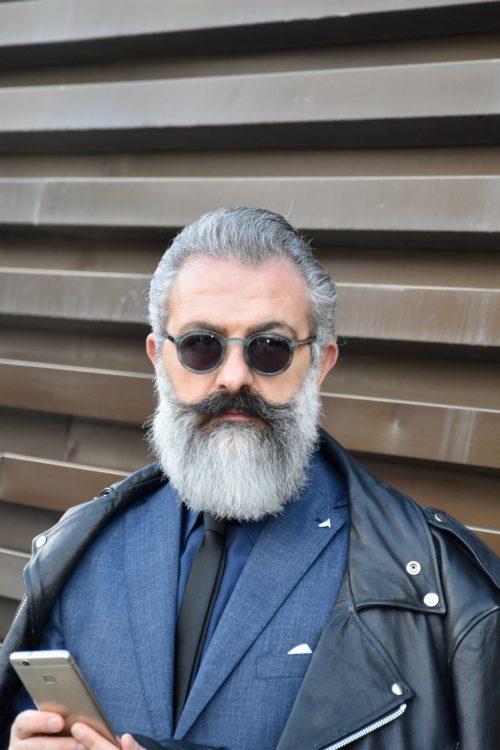 Pitti immagine 2018 barba