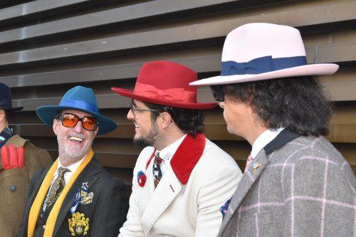 Pitti immagine 2018 cappelli