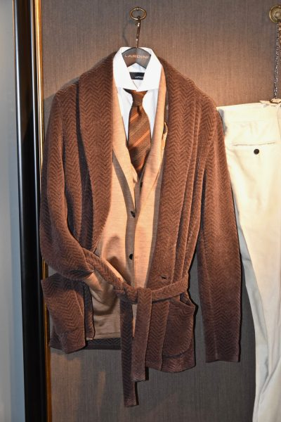 Pitti immagine 2018 lardini giacca da camera